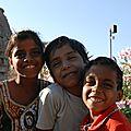 enfants de la regin de Kumbhalgarh
