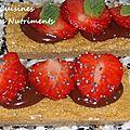 matcha gingembre fraises