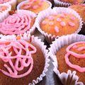 Cupcake tout doux à la vanille