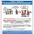 Tract cftc : pas de marketing dans un but electoraliste!