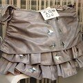 Un sac en forme de jupe ... ou une jupe en forme de sac...
