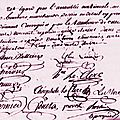 le 14 septembre 1789 à bonnétable.