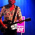 <b>Rodolphe</b> Burger le vendredi 25 juillet au Studio 104 (Maison de la Radio - Paris)