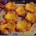 Tartelettes au chorizo
