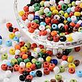 Bijoux en perles de rocailles chez pandahall