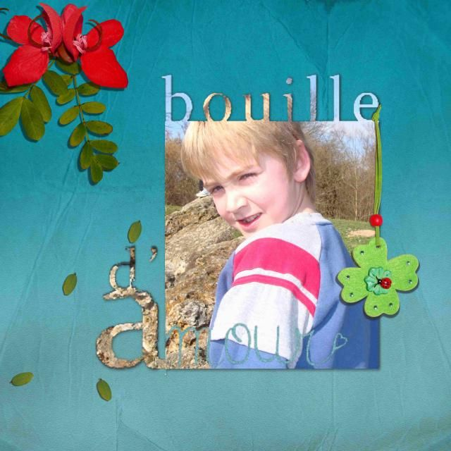 Template Bouille d'amour/Marie