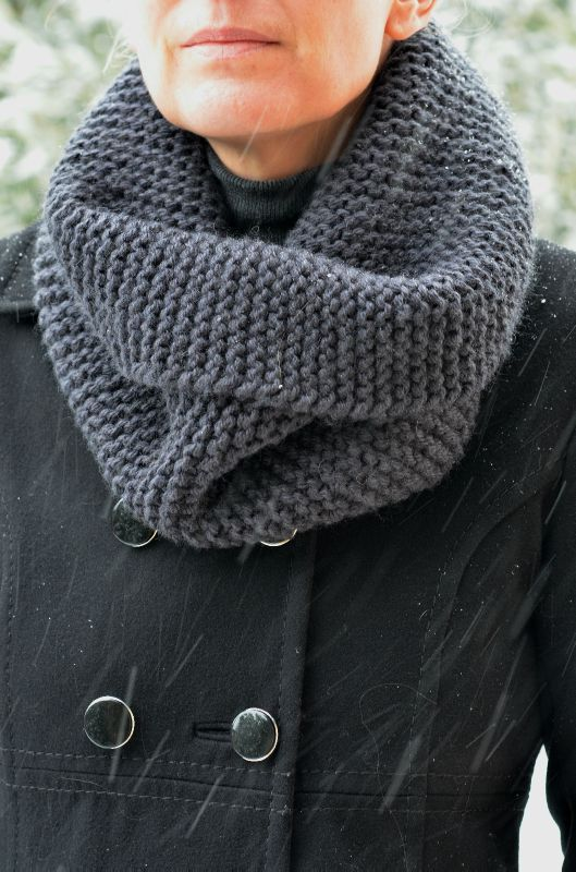 tricoter une echarpe en laine phildar
