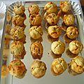 Muffins figues-chorizo