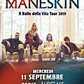 Concours <b>Måneskin</b> : des places à gagner pour le concert à La Cigale le 11 septembre 2019 du groupe phénomène italien !