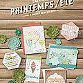 Nouveau catalogue printemps/été et produits gratuits !! venez voir !!
