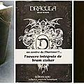 Dracula , éditions opta (1968)