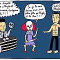 Danse avec les stars. Alizée et son partenaire <b>Grégoire</b> <b>Lyonnet</b>.