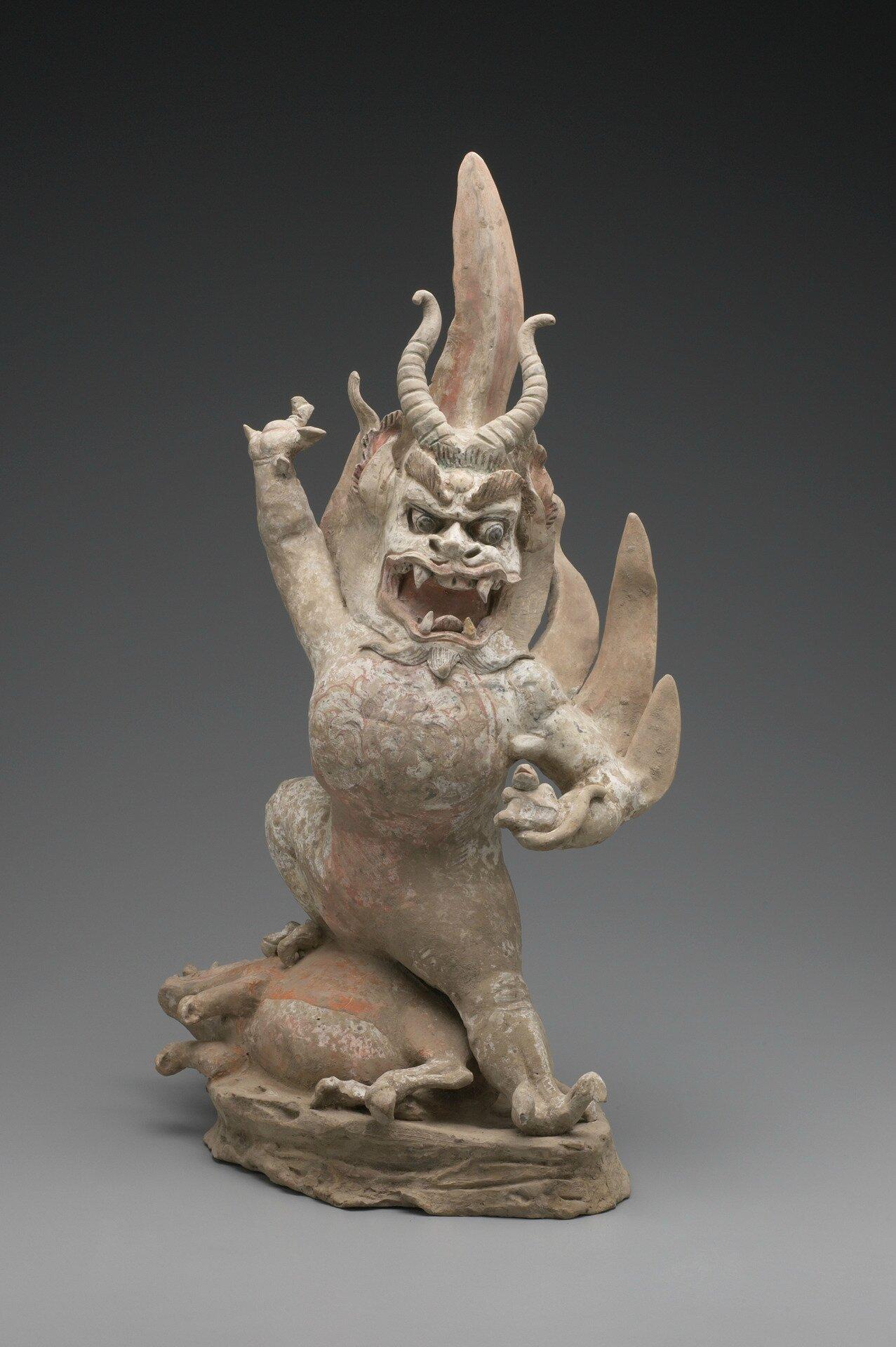 Tomb Guardian Creature (Zhenmushou), ca