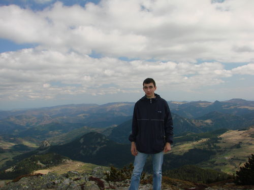 2008 04 24 Cyril au Mont Mézenc (6)