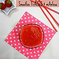 Smoothie fraises & mangue