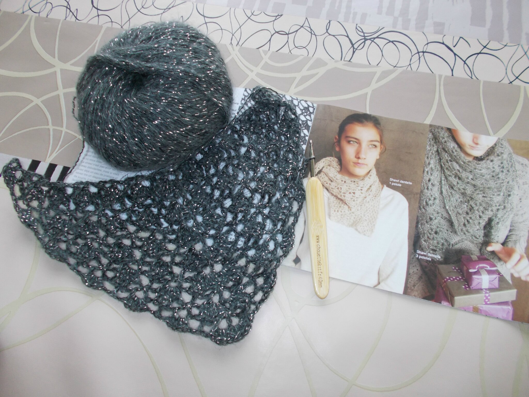 Le Shawl du Chouette Kit