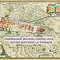 Chronologie des ROIS, COMTES, DUCS, etc. qui ont gouverné La TOURAINE