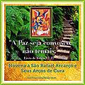 DIA 8 - NOVENA À SÃO RAFAEL ARCANJO E AOS SEUS <b>ANJOS</b> DE CURA: Cura dos Antepassados e da Árvore Genealógica