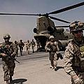 Que signifie le retrait des <b>troupes</b> américaines d'Afghanistan?