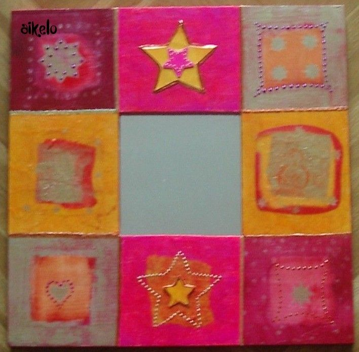 miroir decopatch stars
