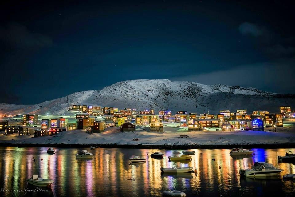 The suburb Qinngorput, Nuuk, Greenland