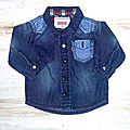 Chemise Levi Strauss, 3 mois
