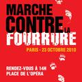 Marche contre la fourrure - 23 octobre 2010 - paris