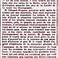 Dimanche 26 Août 1906 Distribution des Prix de la Société de Tir