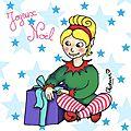 """proposé par Les bonnes résolutions 2017 - Challenge """"Il était quatre fois Noël"""" - le coffre de Scrat et Gloewen, couture, lecture, DIY, illustrations..."""