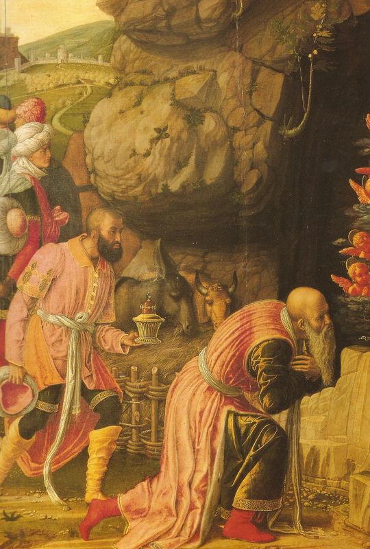 MANTEGNA - Adoration des Mages - FLORENCE