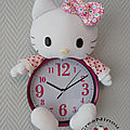 Horloge Hello <b>Kitty</b>