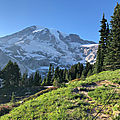 Connaissez-vous le parc national de Mont Rainier?