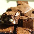 Brownie au trois chocolat de scally
