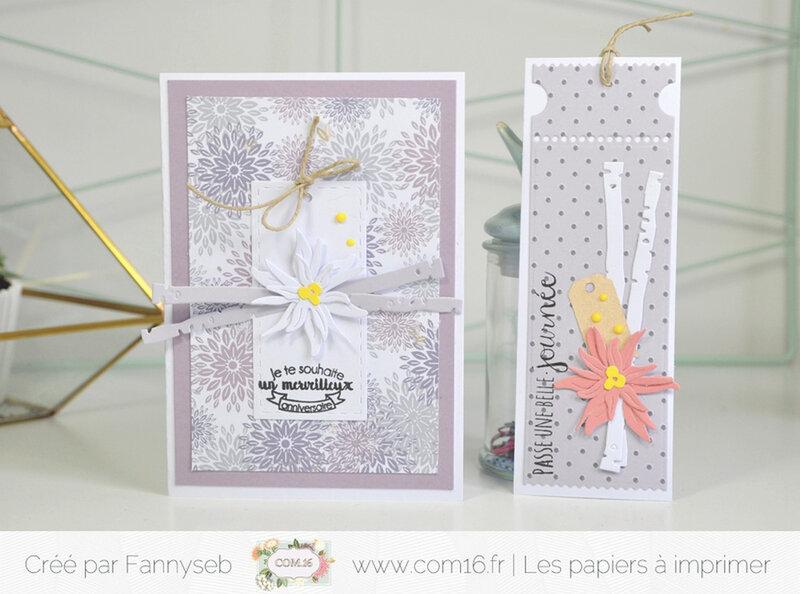 carte et marque page fannyseb 1 challenge 2 mai 2018 collection bertille ambre papiers COM 16