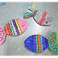 Activités artistiques & de graphisme en maternelle - poisson d'avril