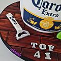 Gâteau bière Corona - Corona Beer cake