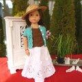 Balalaika & rentrees des classes, 2 tenues pour 3 familles de poupées // 2 outfits for 3 doll families