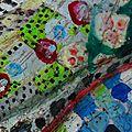 Hervé THAREL SCHMIMBLOCK'S écu 2013 - diamètre 35cm détail 3
