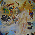 The fifth Day of Creation (the naming of the birds of the air) & Psalm 8