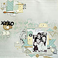 Xoxo famille - collection vague de froid - lorelai design