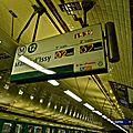 Station Jules Joffrin Ligne 12.