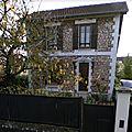 Belle maison en meulière