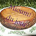 Petit cheesecake improvisé