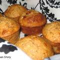 Muffins pomme poire cannelle, un peu de réconfort pour le goûter