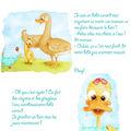 bébé canard découvre le bain