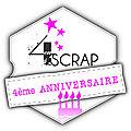 4ème anniversaire de 4enscrap - jour 3