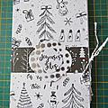 <b>Mini</b>-pochette pour Noël