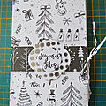 Mini-pochette pour Noël