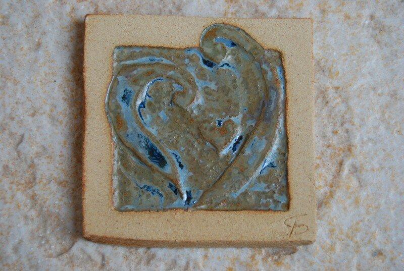 carreau motif : coeur disponible