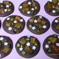 Mendiants abricots secs/pistaches